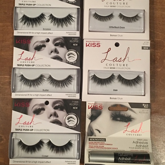 Kiss Makeup Lash Couture Eyelash Bundle Poshmark